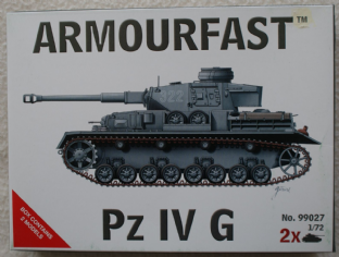 Armourfast 20mm 99027 Panzer IV Ausf G